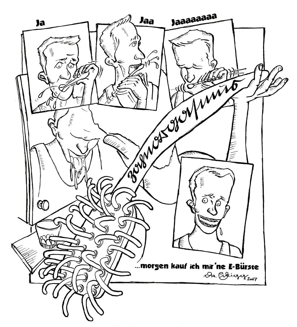 Comic: Zahnorgasmus