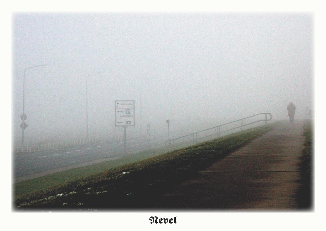 Nebel in Cuxhaven