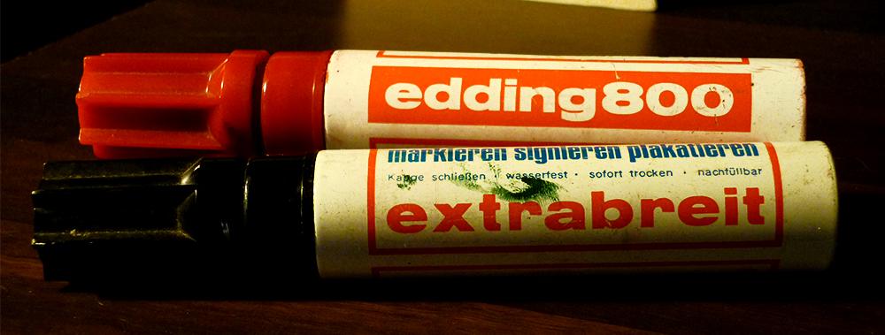 edding 800 - extrabreit