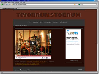 Schlagzeug Projekt aus Cuxhaven