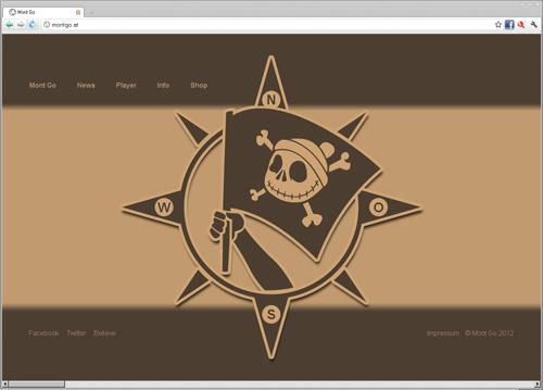 HTML Seite mit horizontalem Scrollen
